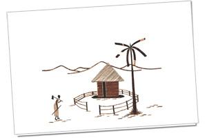 handgemaakte fotokaarten