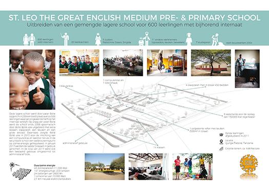 St. Leo The Great English Medium Pre- & Primary School - Uitbreiden van een gemengde lagere school voor 600 leerlingen met bijhorend internaat