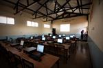 De eerste computerklas in de regio Tabora