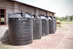 Watertanks van 5.000 liter