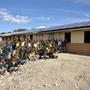 40 panneaux solaires sur le toit de l'école primaire.