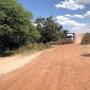 Les derniers kilomètres avant l'arrivée à notre école primaire.