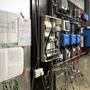Câblage du panneau des circuits électriques.