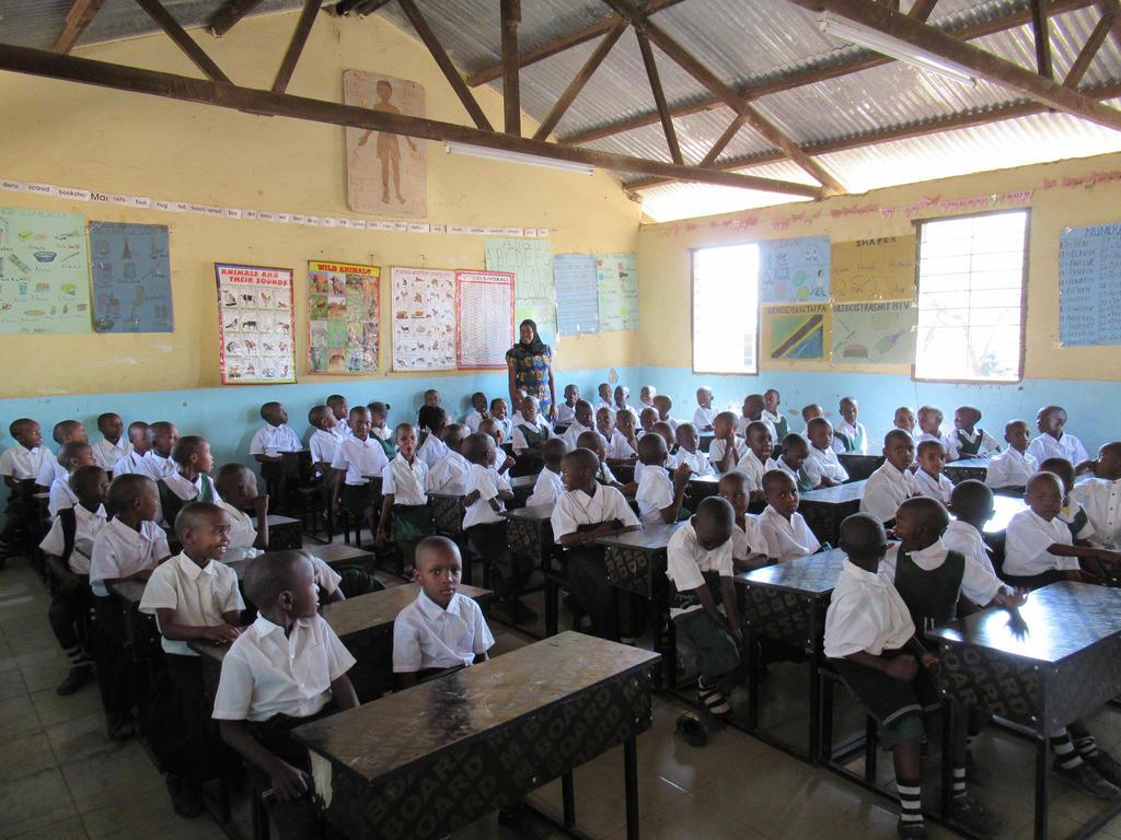 Local de classe à l'école primaire