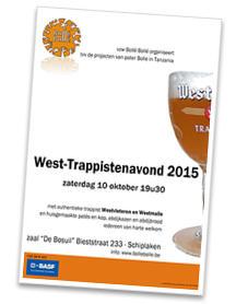 Zevende West-Trappistenavond op 10 oktober